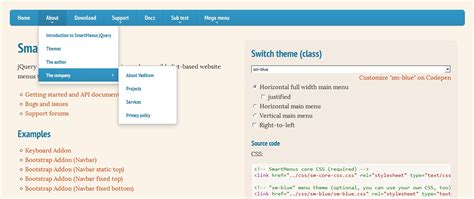tutorial jquery website 20 responsive navigation solutions exles codes