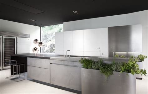 Concrete Kitchen by Concrete Eco Kitchen By Martin Steininger Decoholic