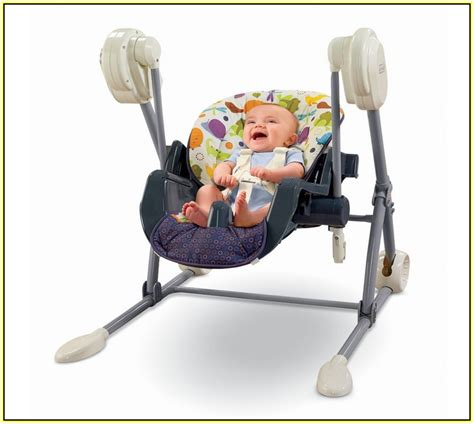 fisher price swing and highchair fisher price papasan chair home design ideas