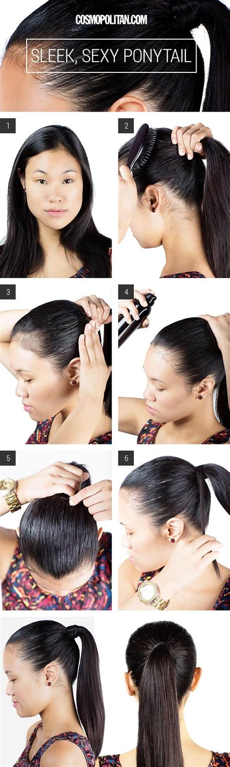 slick back weave hairstyles 25 diy hairstyles you can do with these step by step