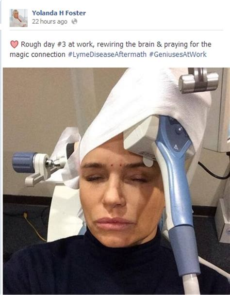 how did yolanda foster get the lyme disease news yolanda foster s continuing struggle with neuro lyme