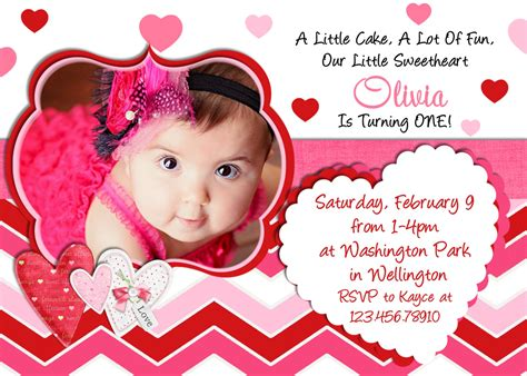 Invitation Card Birthday Design Items Similar To Valentine Birthday Invitation Photo Card