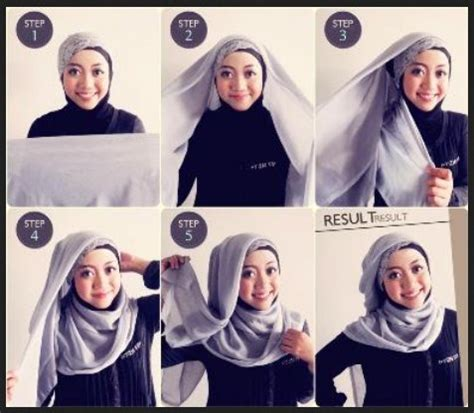 video tutorial hijab terbaru kumpulan gambar tutorial segi empat terbaru foto gambar