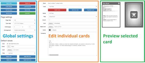 rpg card template rpg cards