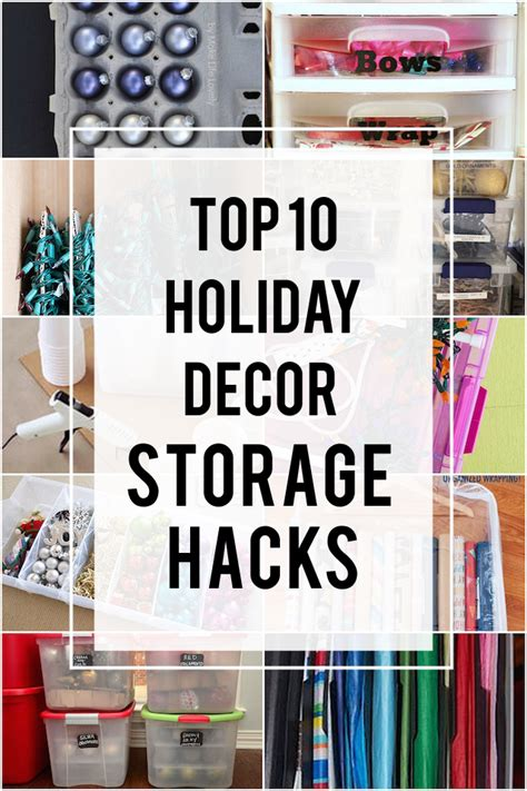 best way to store christmas lights 10 great ideas on how to store your holiday decorations