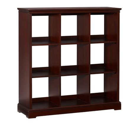 9 cubby bookcase pottery barn