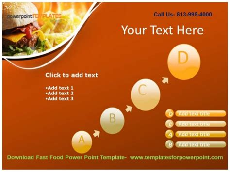 Online Downaload Fast Food Powerpoint Template Fast Food Powerpoint Template