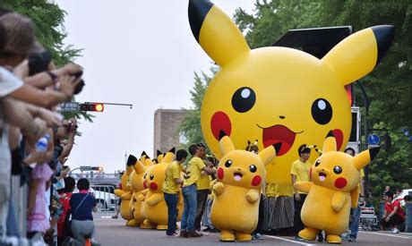 Kaos 3d Print Go Catching Pikachu more disappointment for japanese waiting for go
