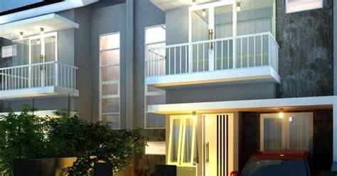 desain rumah  lantai  konsep minimalis  memiliki space antara lain carport teras
