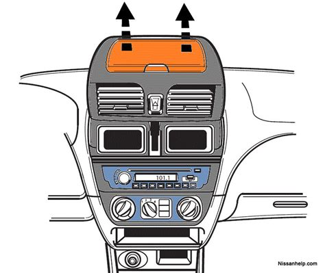 transmission control 2000 nissan sentra regenerative braking 2000 2006 nissan sentra radio removal procedure nissanhelp com