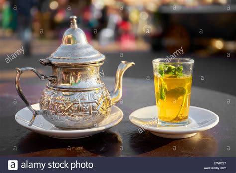 Drink Tea Like A Moroccan by Moroccan Tea Served In Djemaa El Fna Square Marrakesh