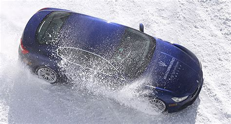 arctic maserati maserati snowmaster experience is for the ones with deep