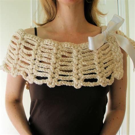 crochet shawls crochet shawl wrap pattern capelet jeweledelegance versitile mini shawl pdf crochet pattern
