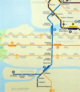 canada line skytrain map canada line vancouver is awesome