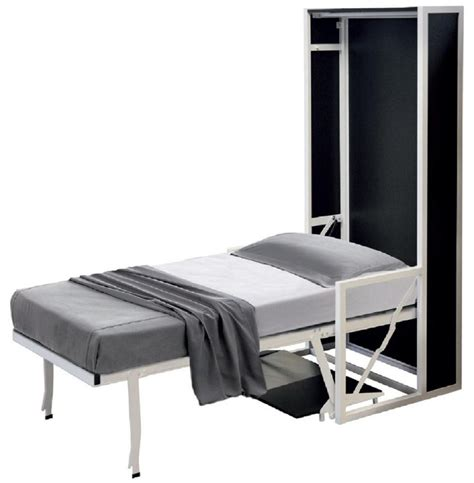 classic horizontal wallbed standalone wall bed with desk