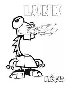 lego mixel coloring page images
