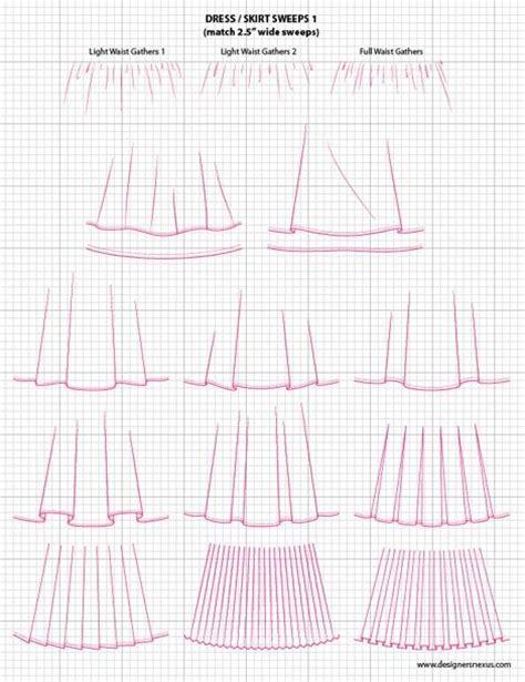 dress template for adobe illustrator dress skirt sweeps 1 adobe illustrator flat fashion