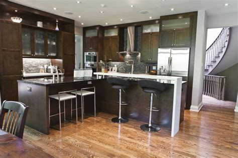 modern kitchen design toronto rustic modern kitchen and family room contemporary