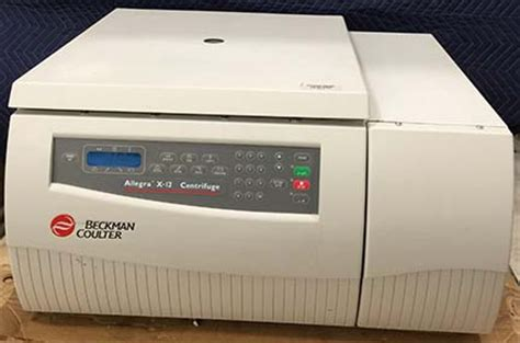 beckman allegra x 12 table top centrifuge with sx4750 rotor