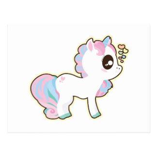 regalos unicornios kawaii zazzle es postales unicornio kawaii tarjetas postales zazzle es