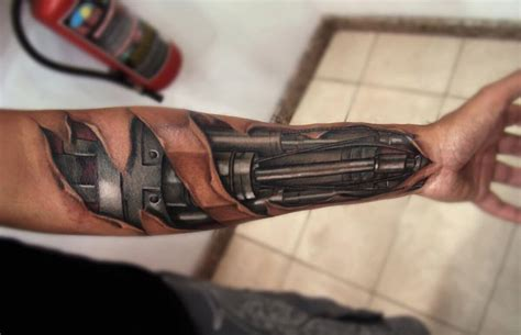 bionic tattoos top 80 best biomechanical tattoos for improb