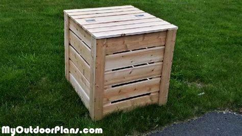 diy compost bin myoutdoorplans  woodworking plans