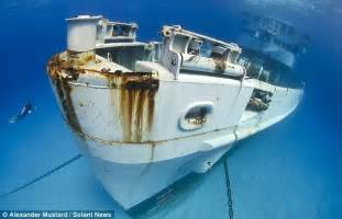 living on a boat at sea uk amazing shipwrecks found on sea bed by intrepid british