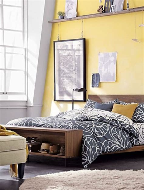 Yellow Walls In Bedroom by 60 And Marvelous Bedroom Wall Design Ideas