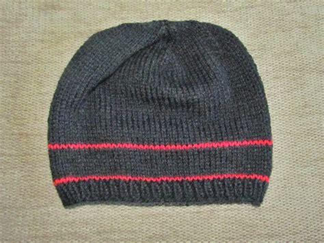 knit helmet pattern free the yarn cafe free basic hat knitting pattern