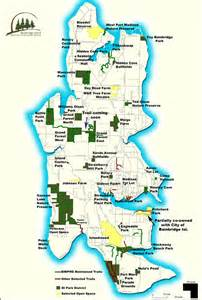 bainbridge map bainbridge island parks and trails