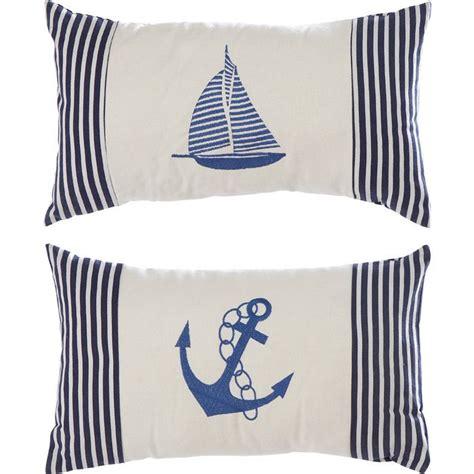 Nautical Pillows 2 Nautical Pillow Set Almofadas