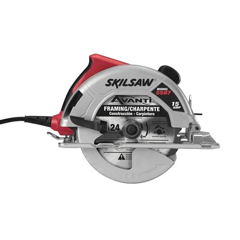 skil 15 corded electric 7 1 4 in circular saw with 24