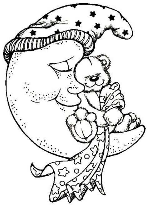 moon bear coloring pages 1000 images about coloring pages sun moon stars