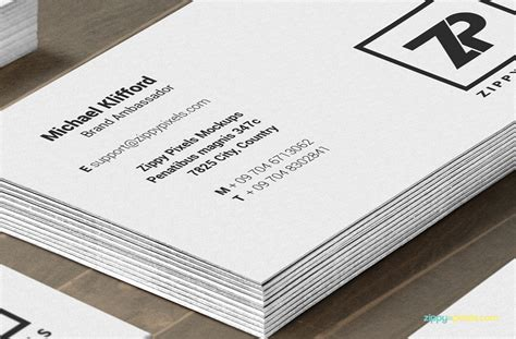 business card mockup display smart template 04 free psd business card mockups zippypixels