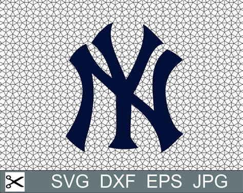 eps format in dxf new york yankees logo football svg eps dxf jpeg format vector