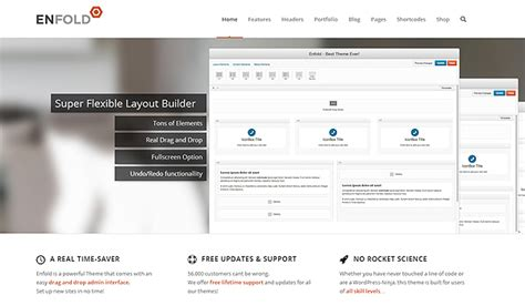 enfold theme full width this collection of retina ready wordpress themes will blow