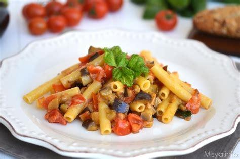 ricette cucina primi piatti pasta 187 pasta con le melanzane ricetta pasta con le melanzane