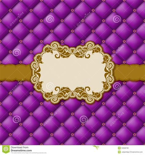purple birthday card template template frame design for greeting card royalty free