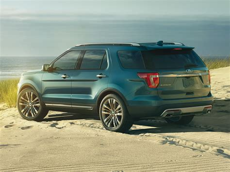 2017 ford explorer new 2017 ford explorer price photos reviews safety
