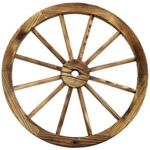 24 in wood wagon wheel patio d 233 cor at home rustic garden decor wholesale photograph rustic country wa