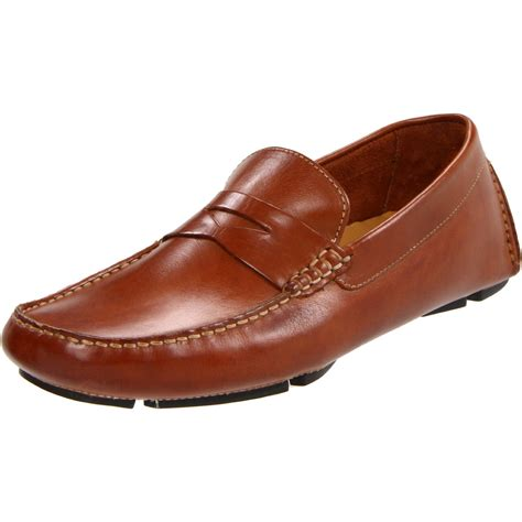 pennie loafers cole haan howland loafer in brown for saddle