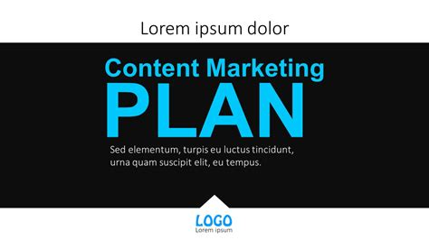content marketing plan powerpoint templates
