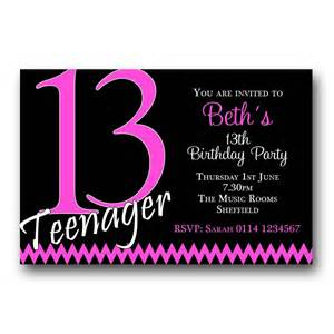 personalised boys amp girls teenager 13th birthday party