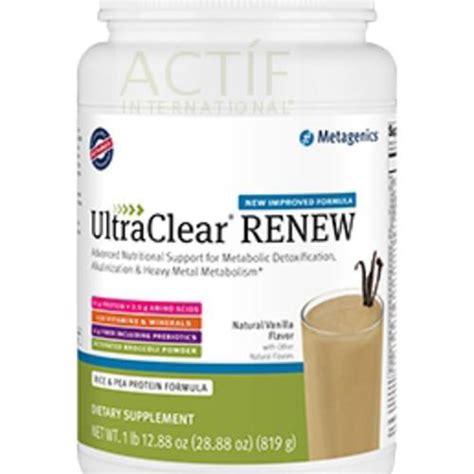 Metagenics Ultra Clear Detox Diet by Metagenics Ultraclear Renew Nielsen Holistic