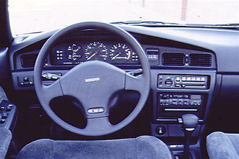 nissan 1990 interior 1990 92 nissan stanza consumer guide auto
