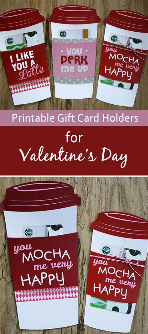 starbucks gift card holder template 25 best starbucks gift ideas on starbucks