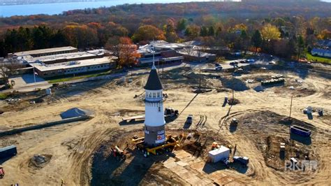 rhode island veterans home historic water tower move on vimeo