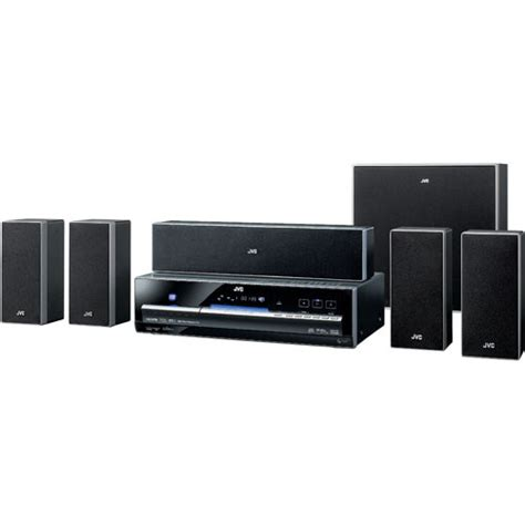 jvc th d50 home theater system thd50 b h photo