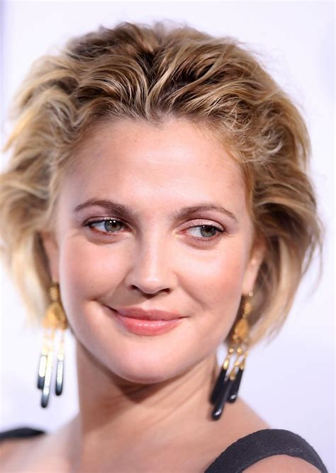 is a whip a hair style more pics of drew barrymore messy cut 1 of 38 messy