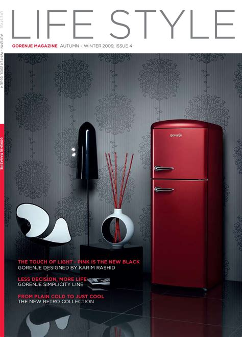 home appliances store editorial image image 31503185 gorenje life style magazine by gorenje d d issuu